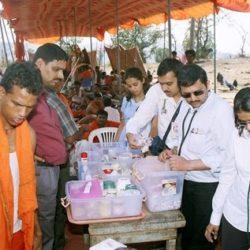 Gurusthan Trust providing medical aid