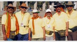 My Group from left: Ashok Darekar, Kiran Patil, Vilas Parab, Shekhar Mahadik, Vinod Jadhav, Kisan Duglas