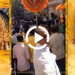Shirdi Padayatra 2014 Sachin Nath